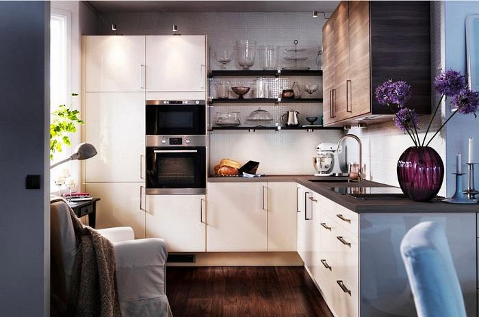 10 лайфхаков для маленькой кухни