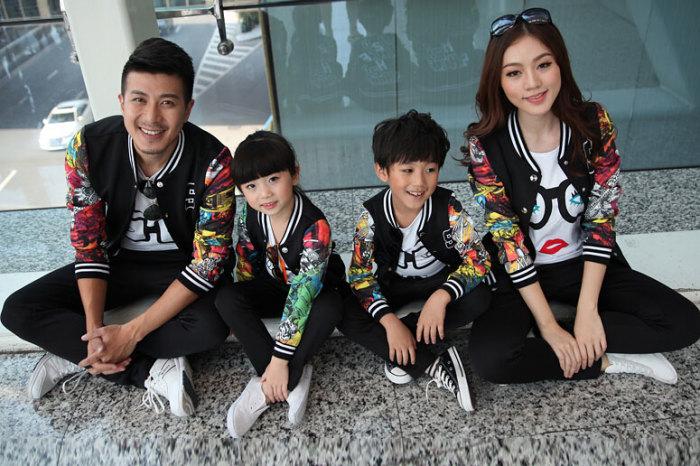 Family look набирает огромную популярность в мире