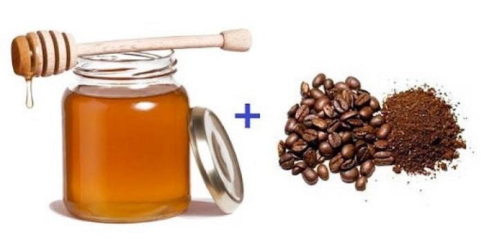 Маска для лица из кофе и меда не только очищает, но и питает кожу