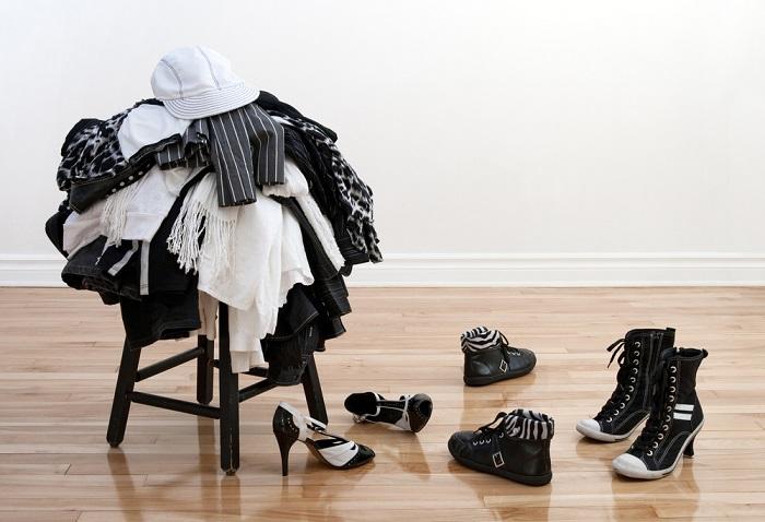 Постиранное белье нужно сразу складывать в шкаф
