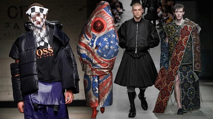Страшно красивый: самая странная мужская мода
