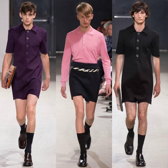 Нежная мужская мода