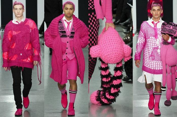 Розовый нынче в моде