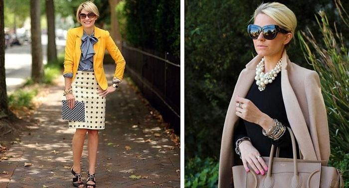 Как модно одеваться после 40 лет
