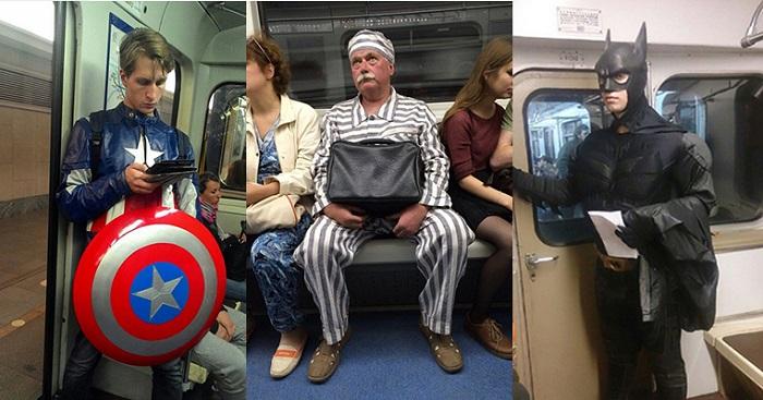 17 невероятных модников в метро