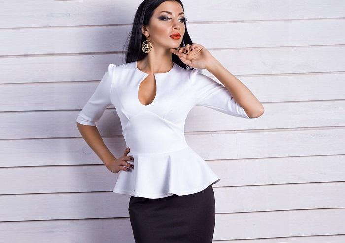 Белый цвет в одежде не всегда полнит