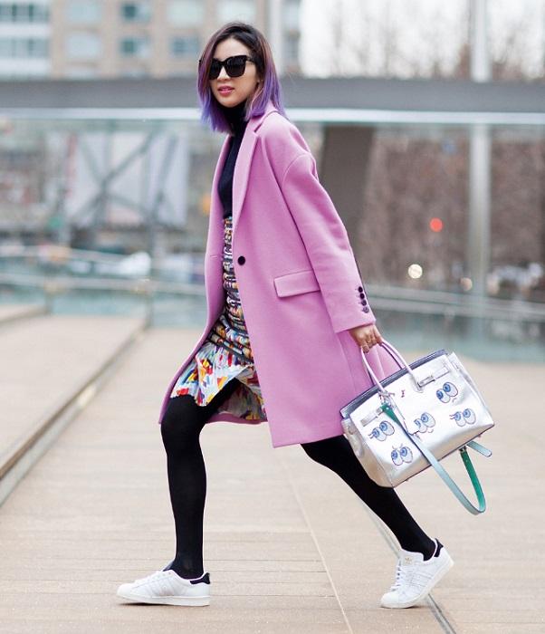 Одежду с разными оттенками розового могут носить все женщины