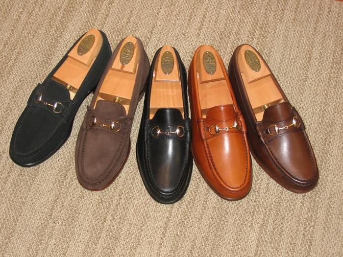 Лоферы - ботинки, напоминающие мокасины