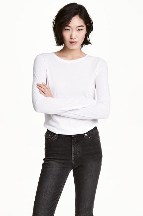 Лонгслив - футболка с длинным рукавом