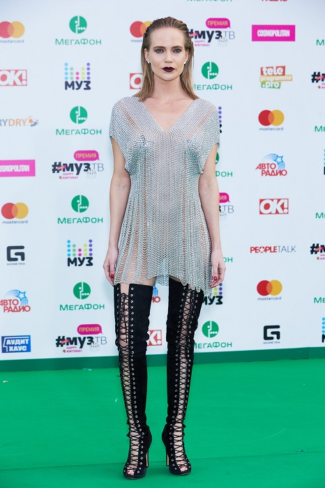 Наталья Чистякова-Ионова выбрала очень смелое платье