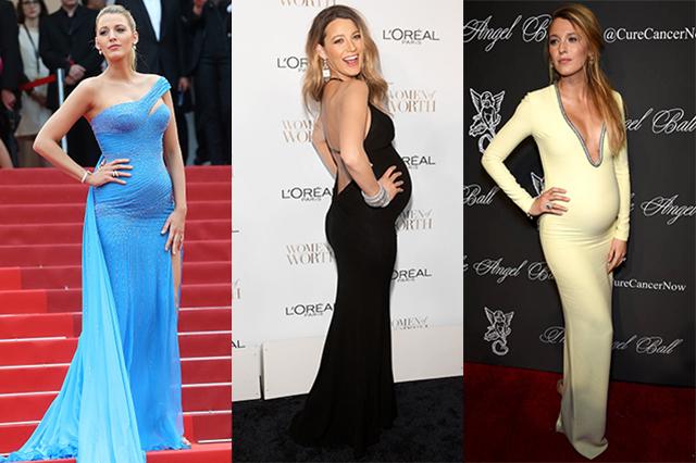 Вечерние платья для беременных очень нежные и женственные