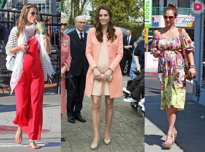 Одежда для беременных может быть очень стильной
