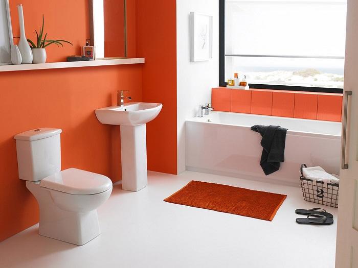 Краска - один из самых экономных отделочных материалов для ванной
