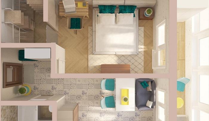 Квартира с отдельной гардеробной