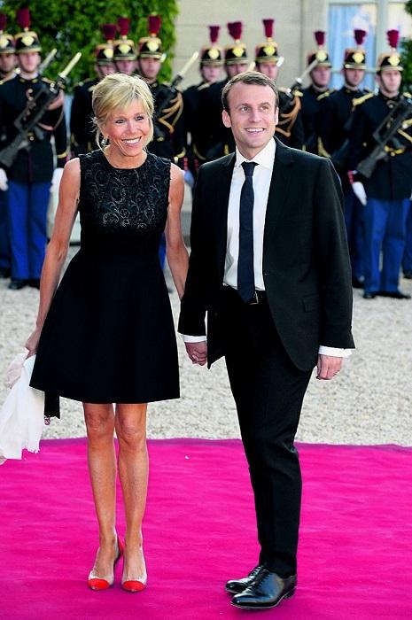 Бриджит Тронье (супруга Президента Франции)