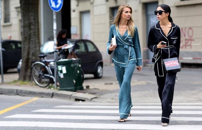 Как правильно носить одежду в пижамном стиле