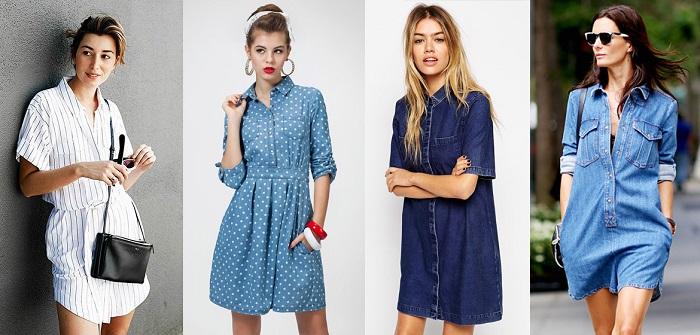 Как подобрать платье-рубашку к типу фигуры