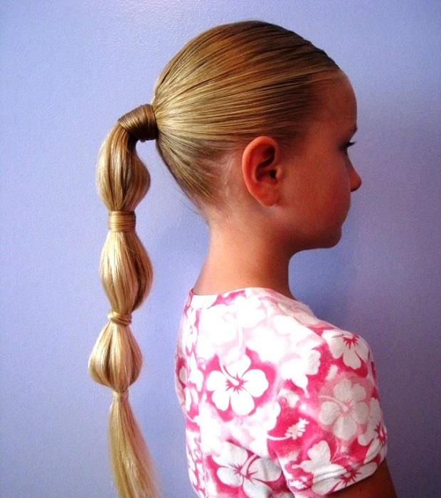 pricheski-na-1-sentjabrja-3 Прически на 1 сентября для девочек с 1 класс по 11 класс, фото