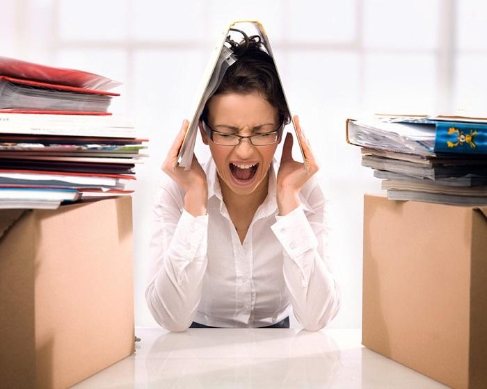 Стресс на работе может стать причиной возникновения дегенеративных заболеваний