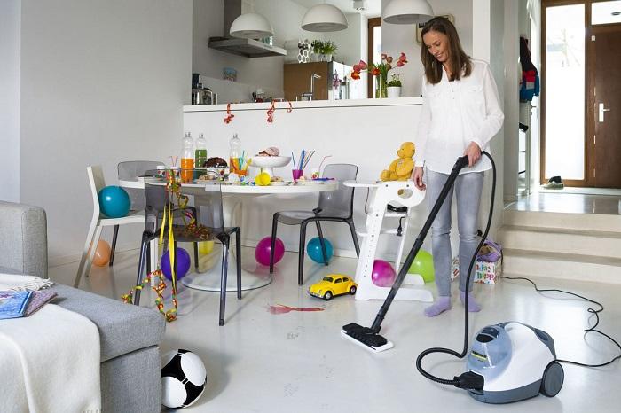 Перед началом ремонта необходимо сделать генеральную уборку