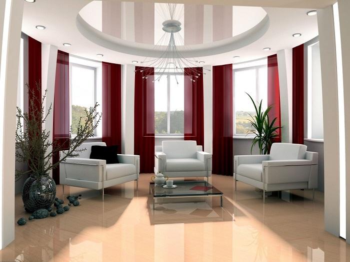 Новые шторы вмиг преобразят интерьер квартиры