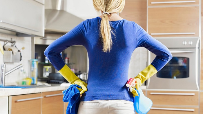 5 правил уборки дома