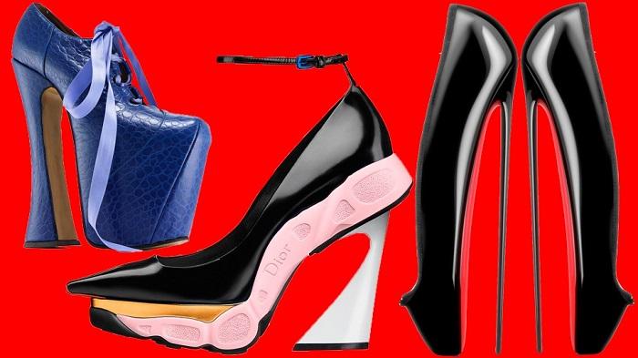 17 очень странных пар обуви, которые удивят даже самого бывалого модника