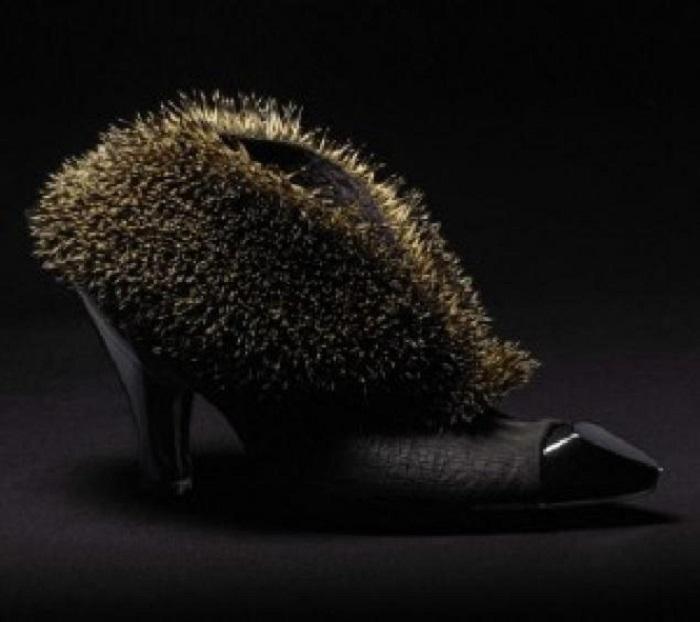 Туфли-ежики