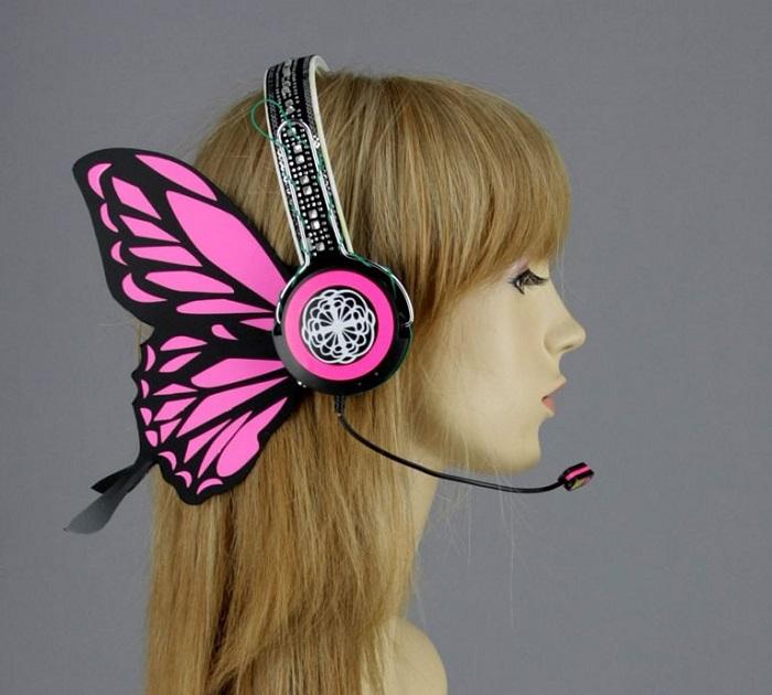 Наушники-бабочка