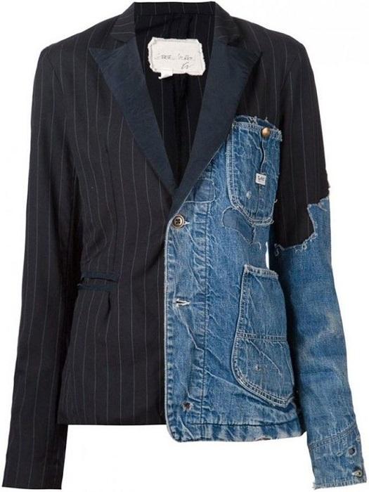 Жакет-джинсовая куртка
