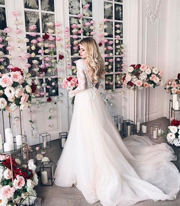 Первый свадебный наряд Алены Красновой
