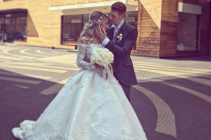 Второе свадебное платье Алены Красновой