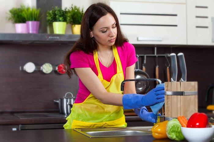 Рецепты уборки на кухне без химии