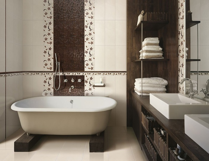 Как сделать интерьер маленькой ванной уютным