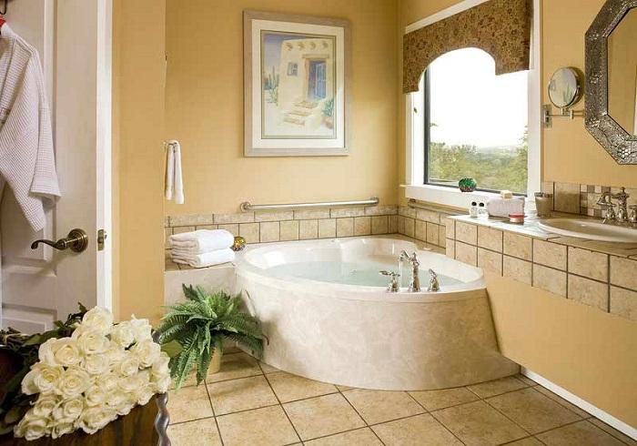 Декор в ванной очень важен