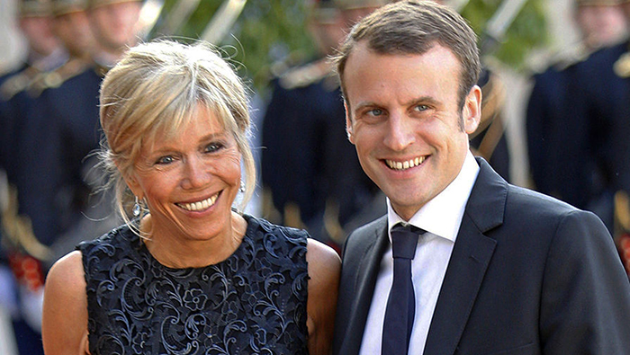 Бриджит Тронье - новая первая леди Франции