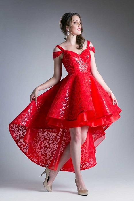 Платья с разновеликим подолом - непонятная вещь в женском гардеробе