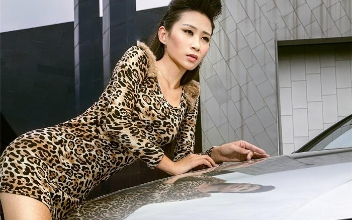 Леопардовый принт мужчины считают слишком вульгарным
