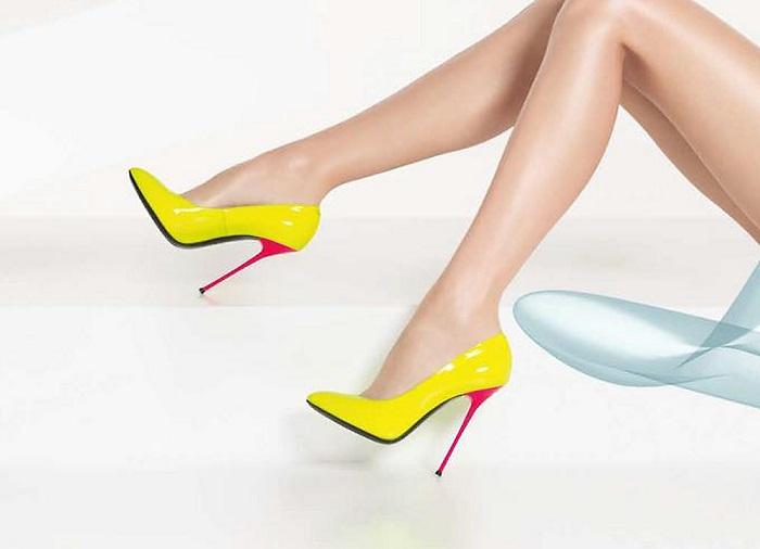 Туфли на шпильке развивают деформацию суставов пальцев