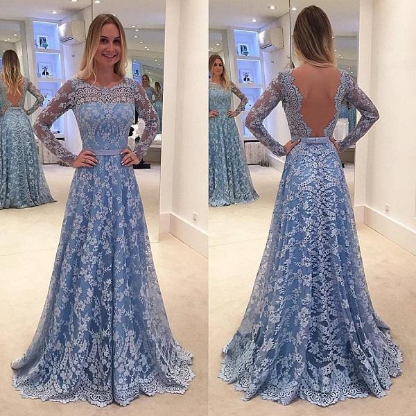 Платье с вырезом на спине - хит 2017 года