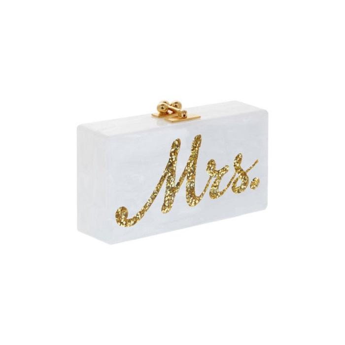 Свадебная сумочка с пометкой «Мистер и миссис»