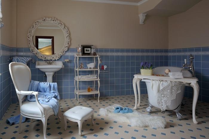 Одна из ванных комнат Аллы Пугачевой и Максима Галкина