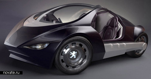Автомобиль - не роскошь. Вся роскошь только в будущем. Концепт от компании Peugeot