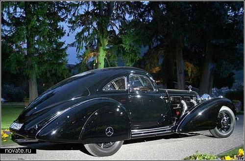 Приз зрительских симпатий - Mercedes-Benz 540 K 1938 года выпуска