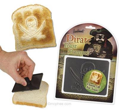 Пиратам тоже по вкусу жареный хлеб