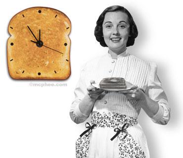 Аппетитные часы