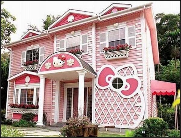 Дом отдыха в стиле Hello Kitty