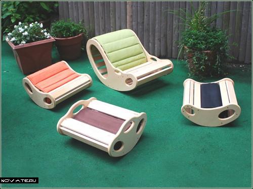 Сидячий тренажер для всей семьи