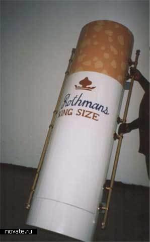 Владельца табачной лавки хоронят в сигарете