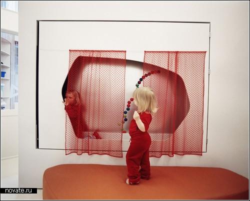 Безумный детский мир - проект оформления детсадовского интерьера